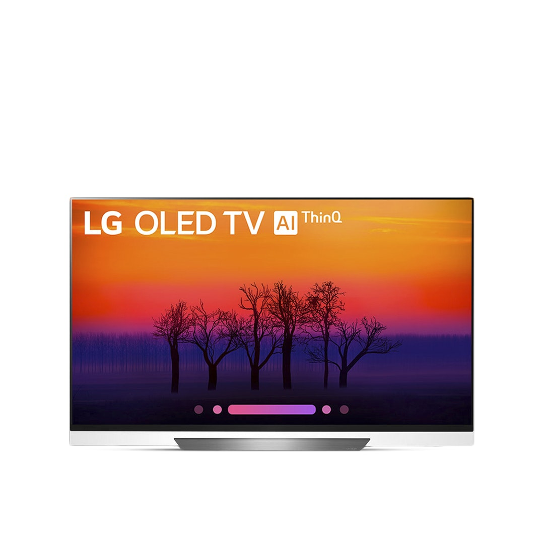 "LG 55/65"" E8 4K HDR OLED Glass TV w/AI ThinQ (2018)"