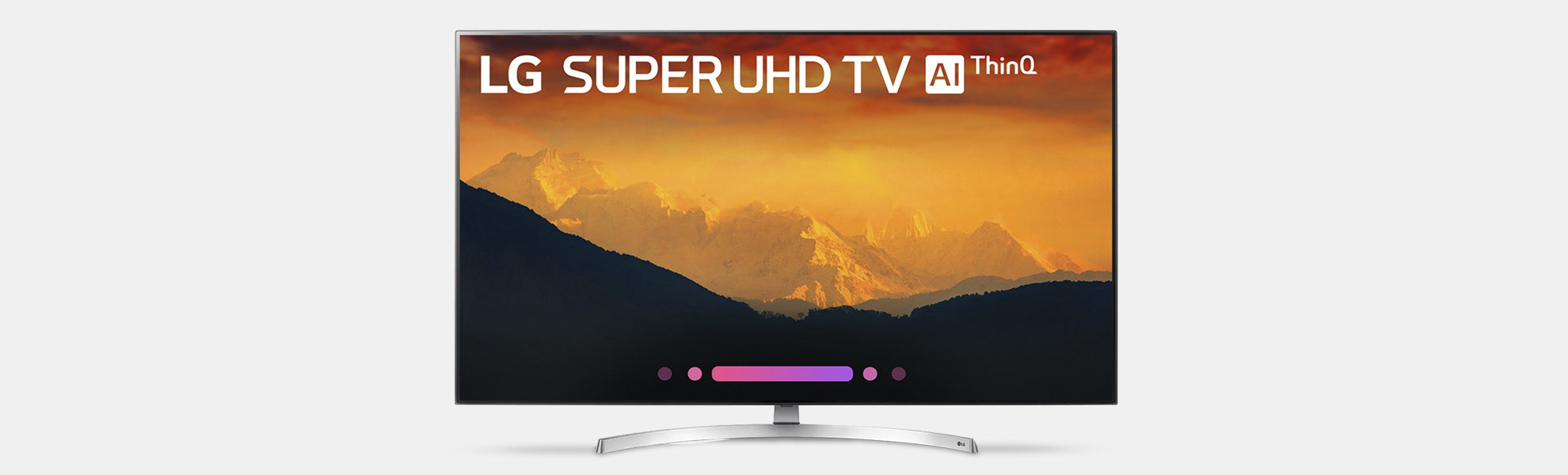 "LG 55/65"" SK9000PUA ThinQ Super UHD AI TVs"