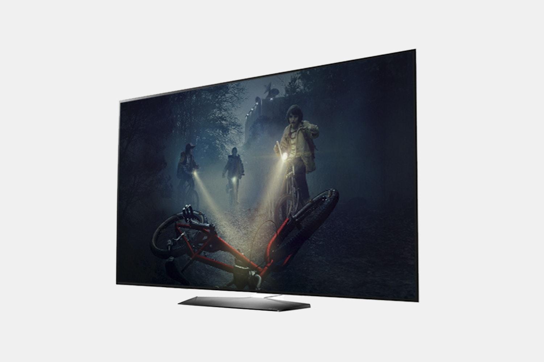 "DAMAGED SCREEN LG OLED65B7A 65/"" 2160p Ultra HD Smart TV"