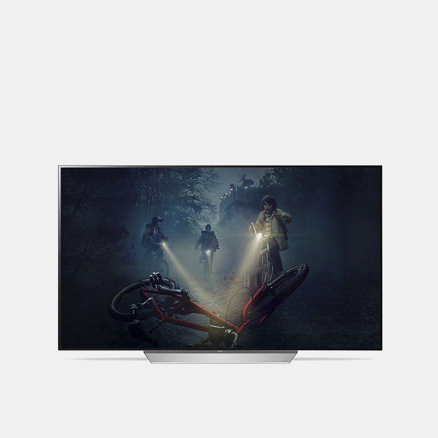 LG 55-Inch C7P OLED 4K HDR Smart TV