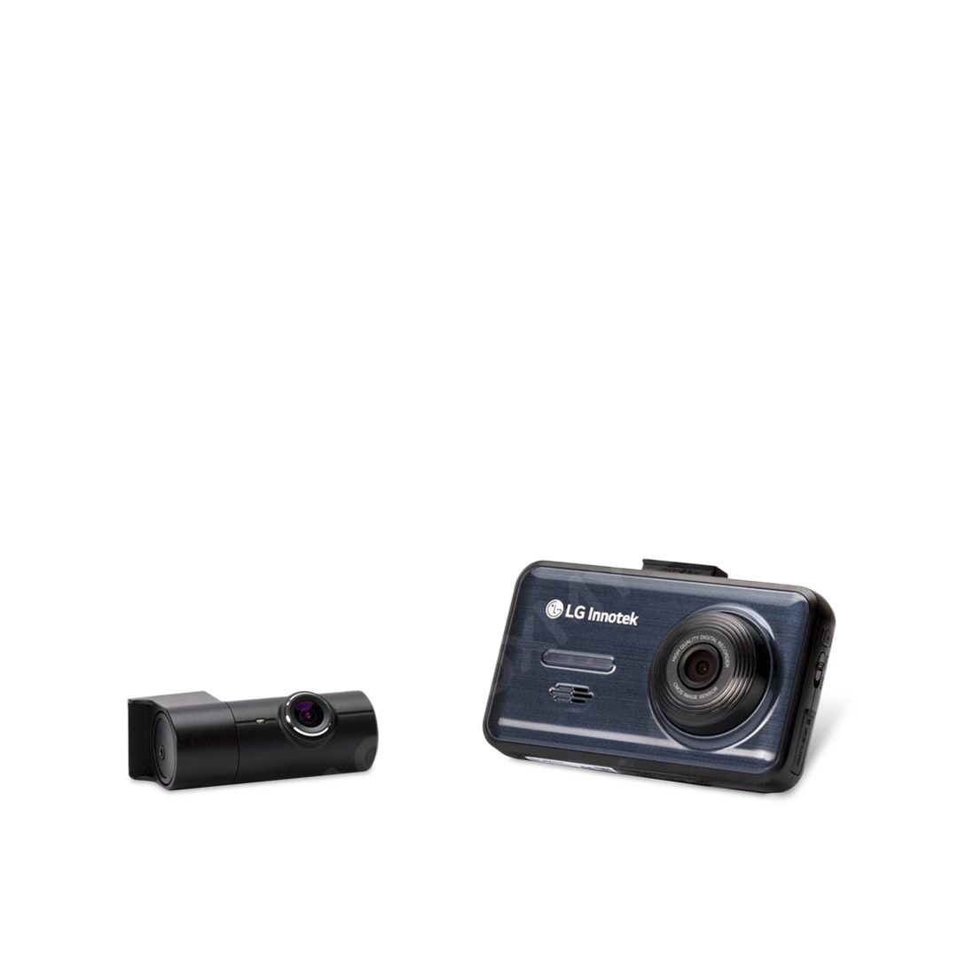 LG Innotek LCD 2-Channel Dash Camera