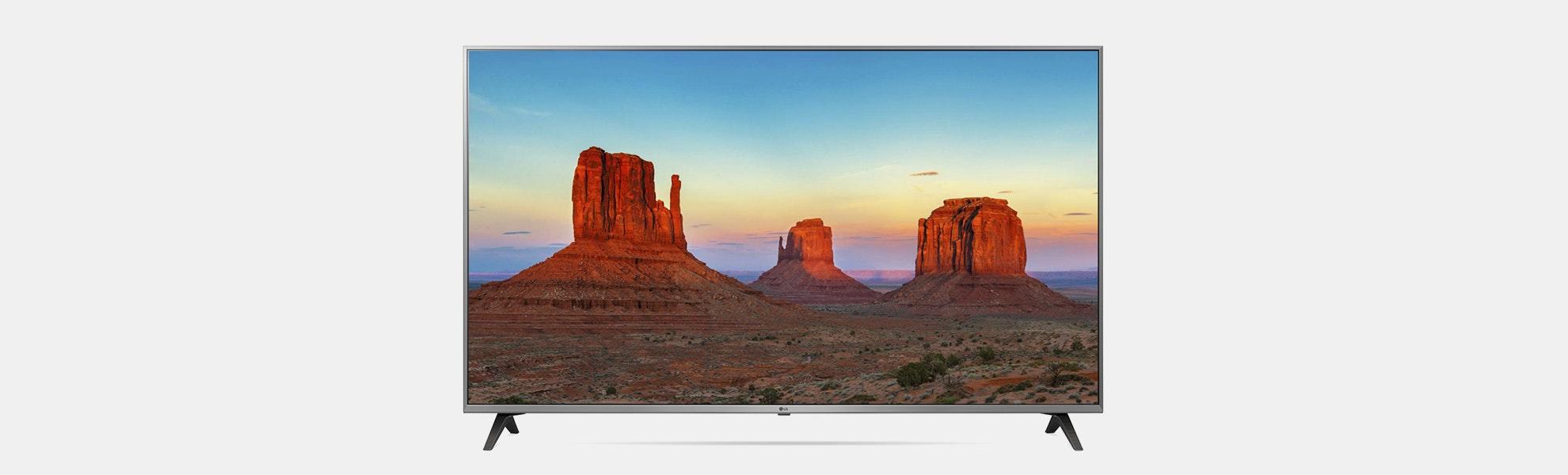 "LG ThinQ 55"" 4K HDR Smart LED UHD TV"