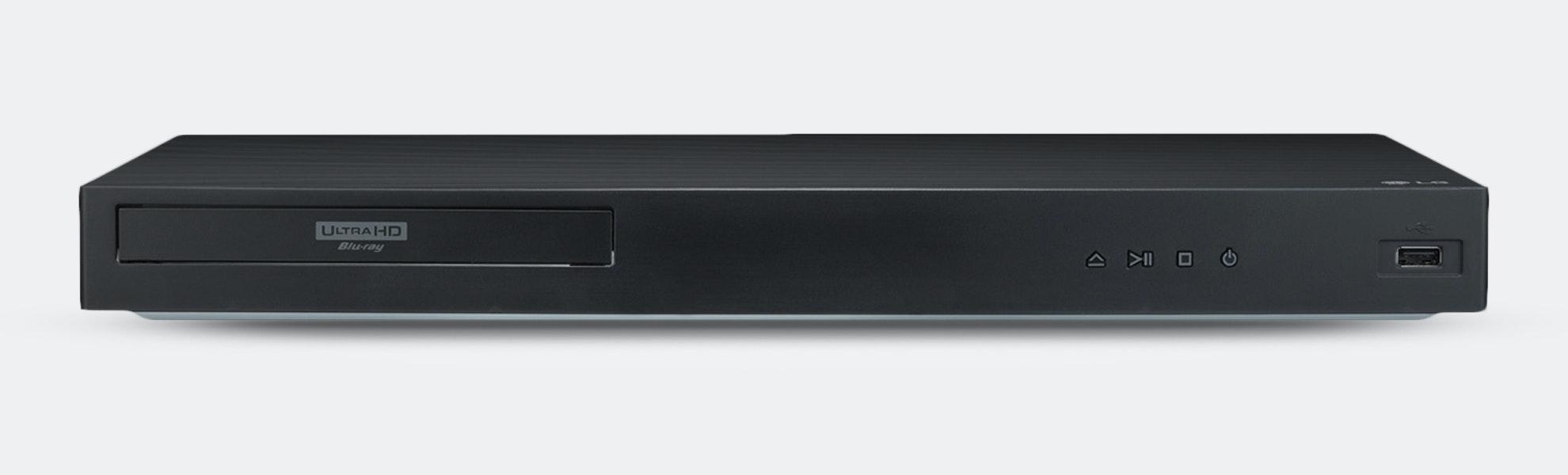 LG UBK90 4K Ultra HDR Dolby Vision Blu-Ray Player