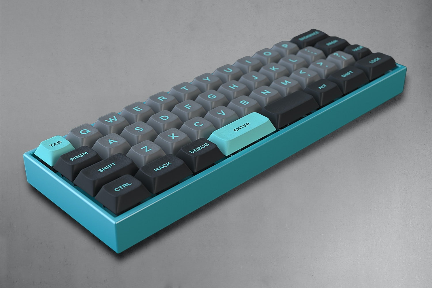 LightCycle DSA Custom Keycap Set for the MiniVan