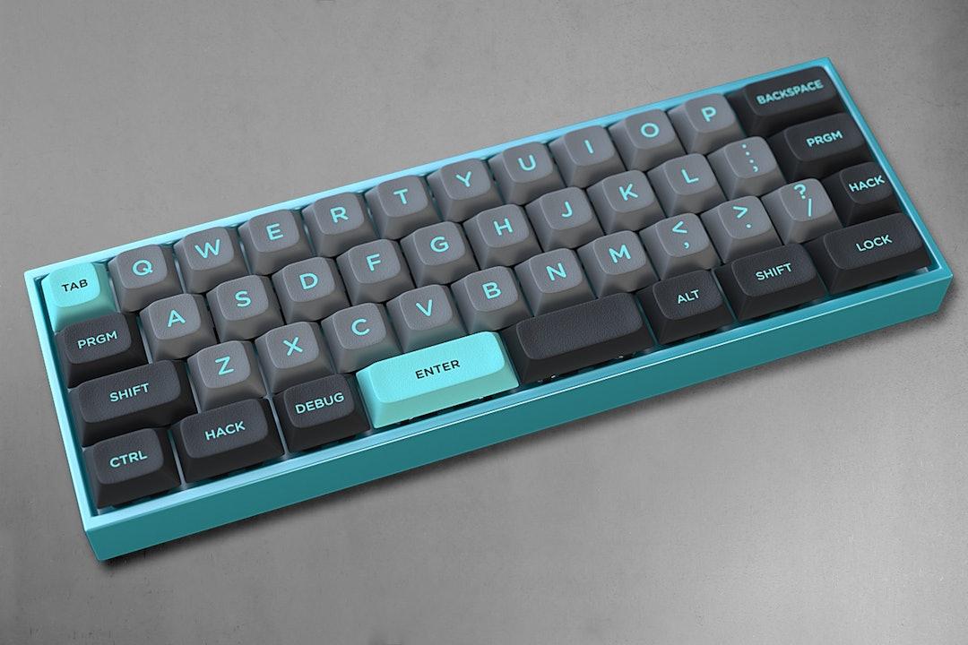 LightCycle DSA Custom Keycap Set for the MiniVan