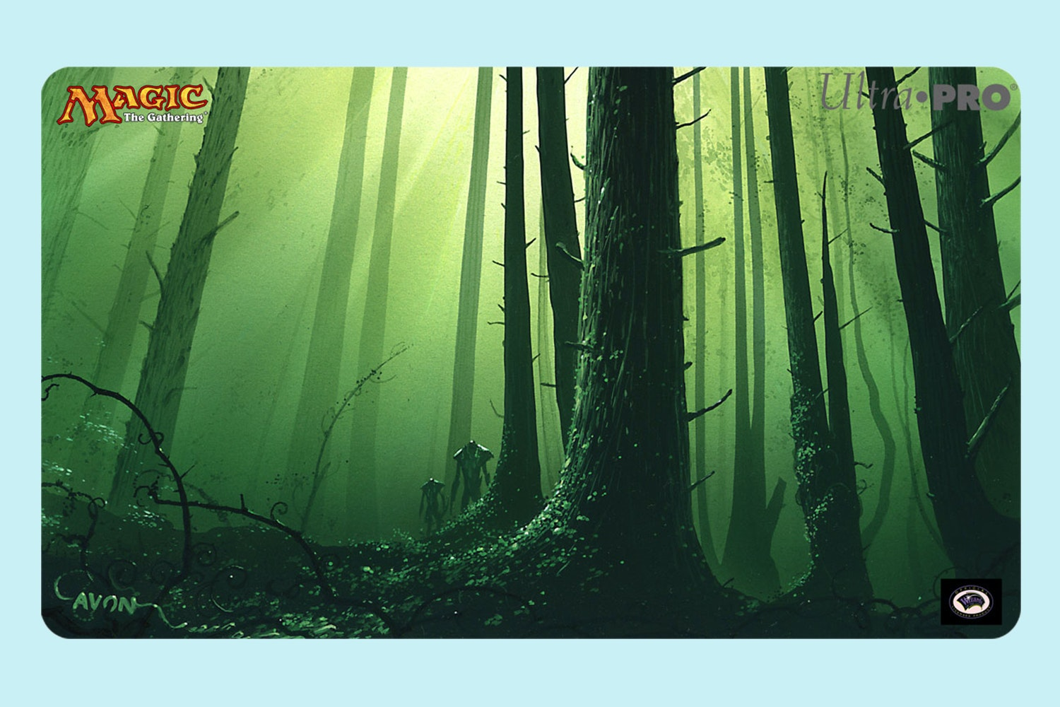 Limited-Edition MTG Playmat by John Avon