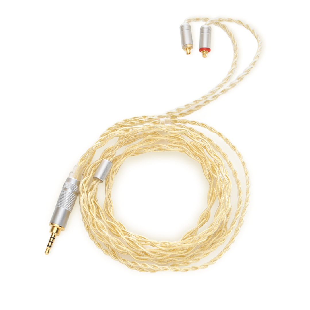 Lin Soul OCC Pure Silver & Gold-Plated IEM Cables