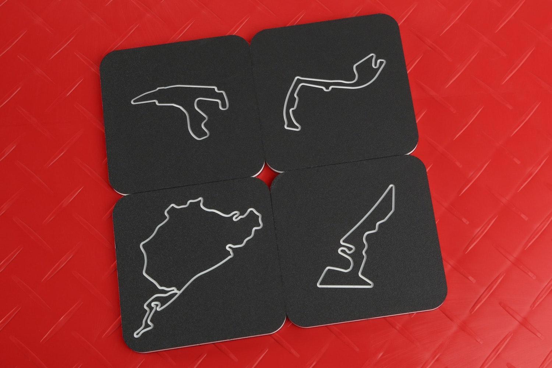 Linear Edge Racetrack Coasters