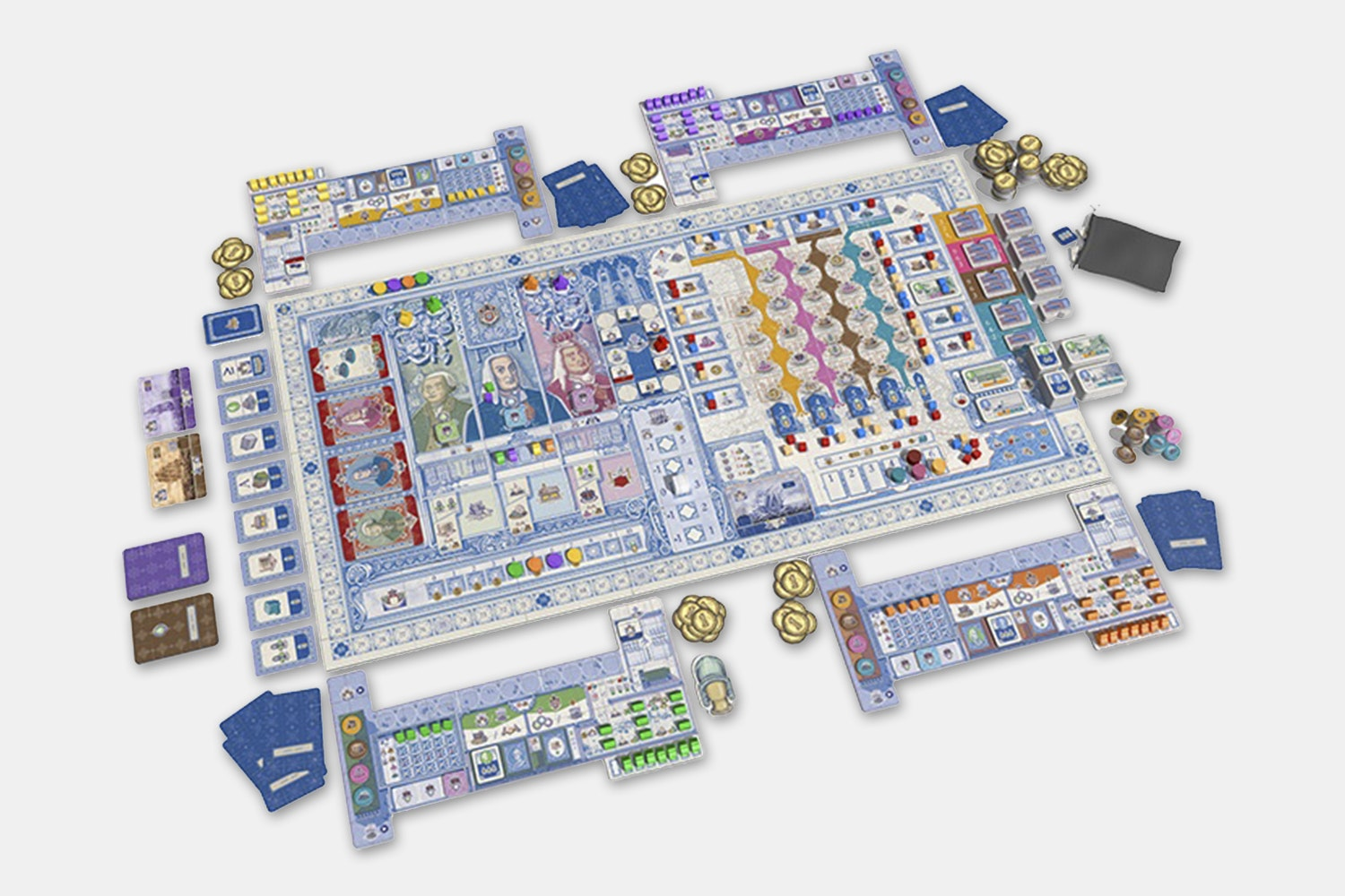 Lisboa Board Game by Vital Lacerda