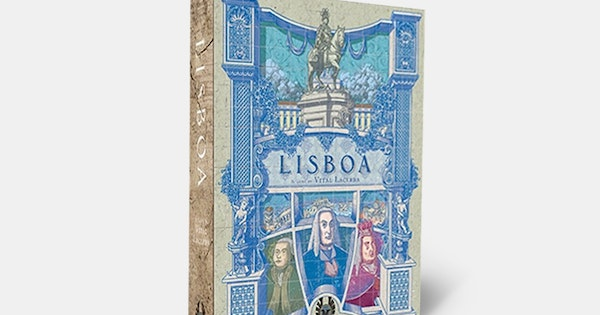 The Gallerist A Game By Vital Lacerda The Art Of: Lisboa Board Game By Vital Lacerda