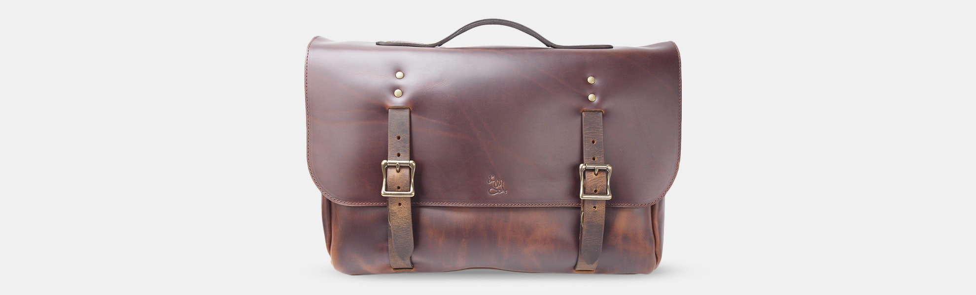 LM Products Calhoun Leather Satchel