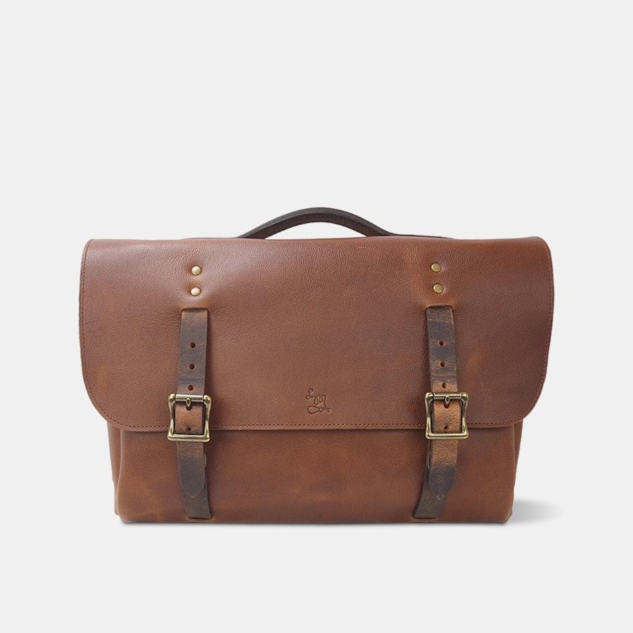 LM Products Calhoun Leather Satchel