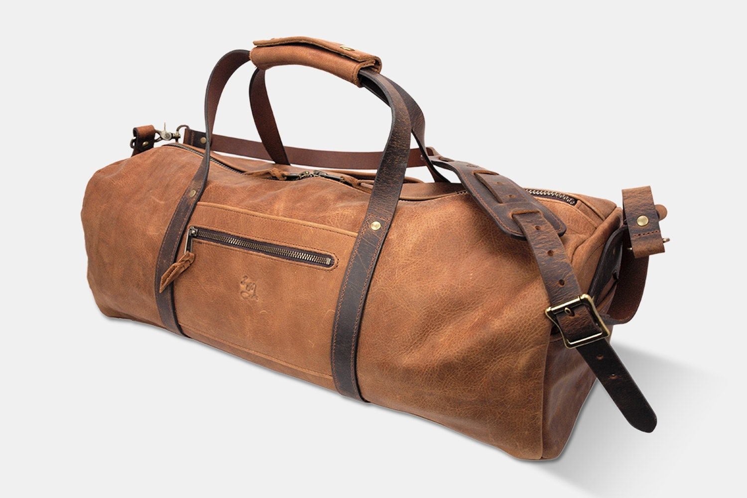 LM Products Drayton Leather Duffel Bag