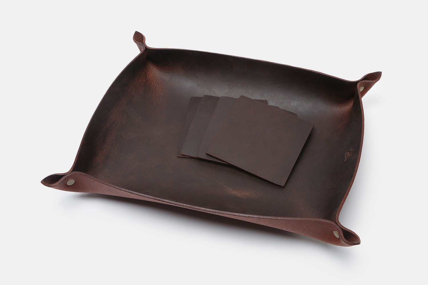 LM Products Hominy Tray & Coasters
