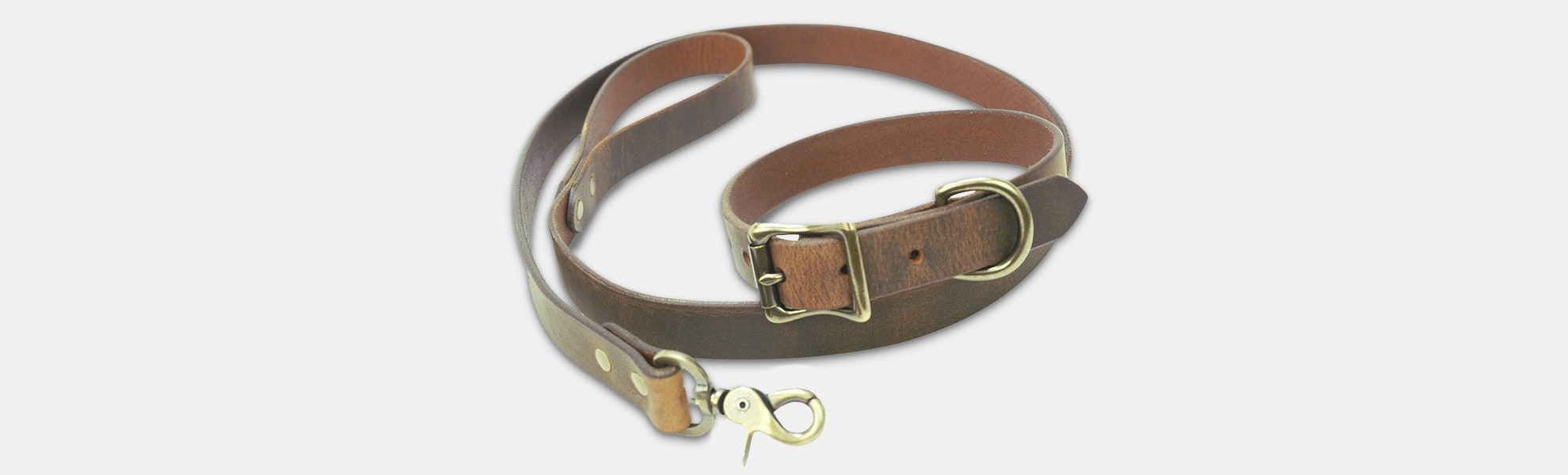 LM Products Huckleberry Dog Collar & Leash