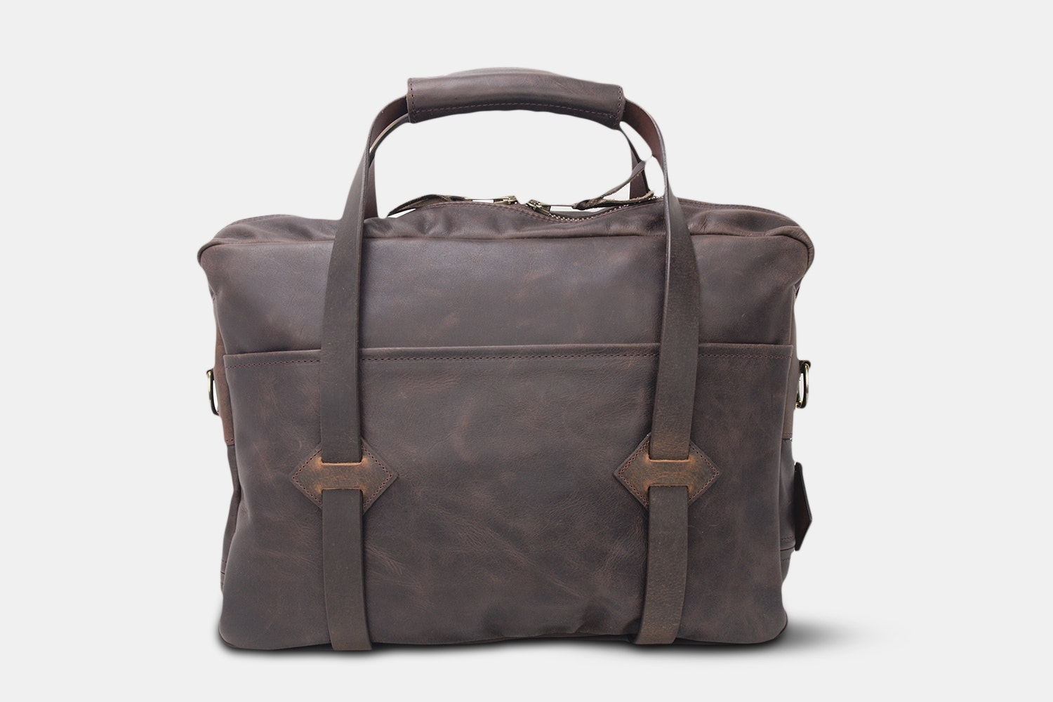 LM Products Rutledge Leather Briefcase