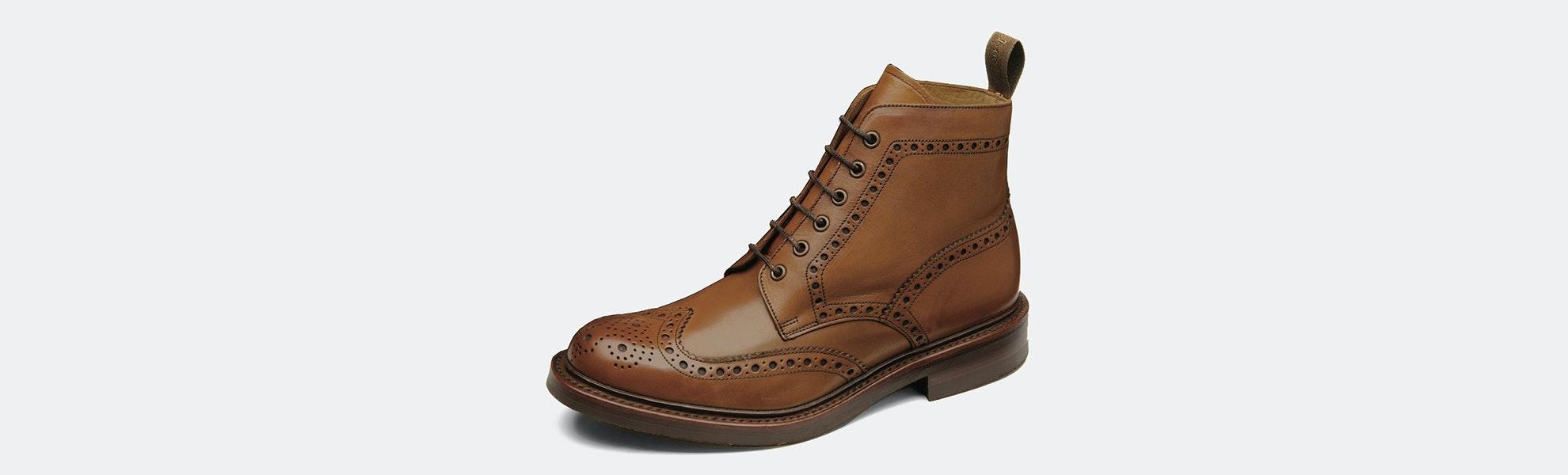 Loake 1880 Bedale Wingtip Boot