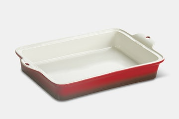 "Rectangle 9"" x 13"" Baker – Red (+$2)"