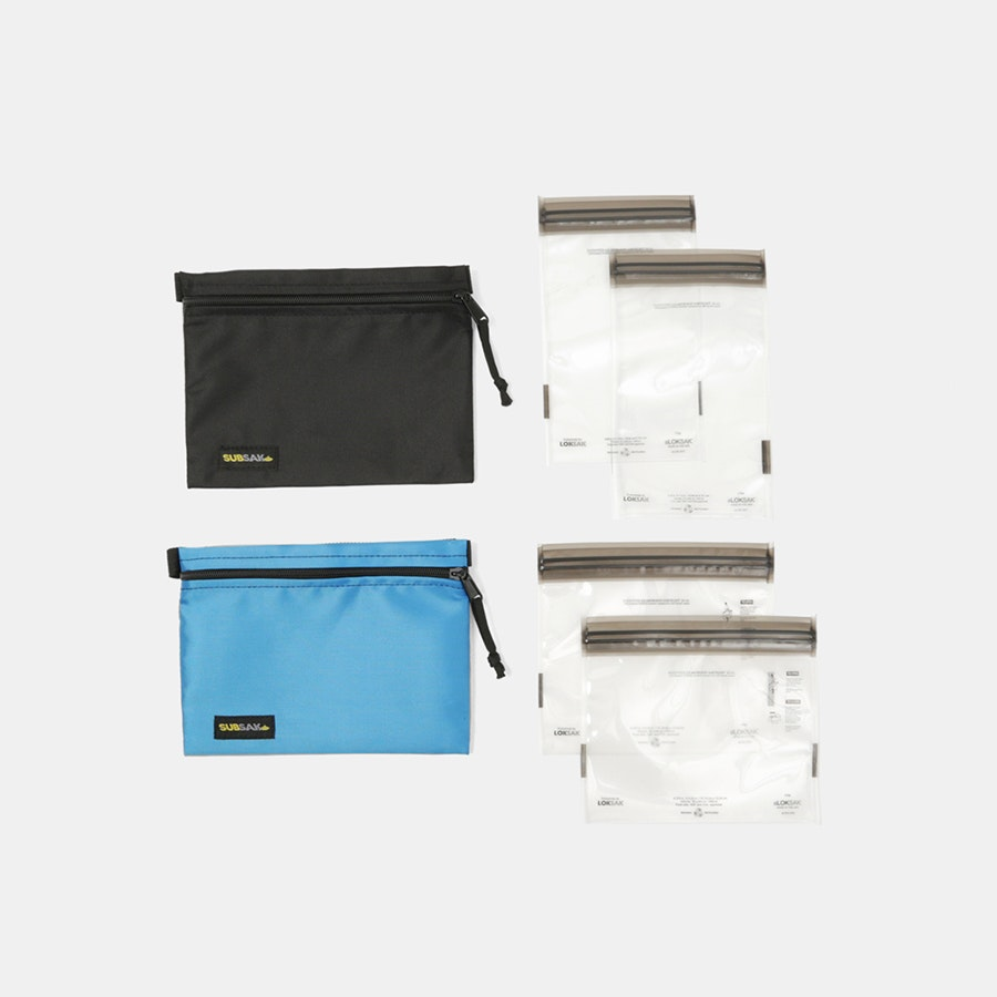LOKSAK SUBSAK Waist Pack (2-Pack)
