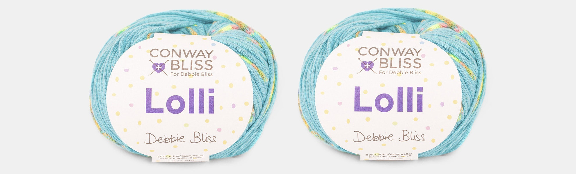 Lolli Yarn by Conway Bliss (2-Pack)
