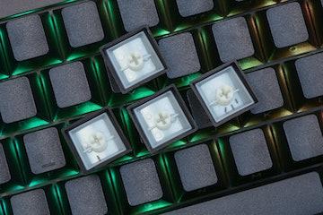LOOP Cherry PBT Doubleshot Sidelit Keycap Set