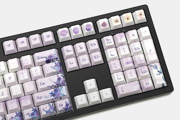 LOOP Mysterious Garden Dye-Subbed PBT Keycap Set