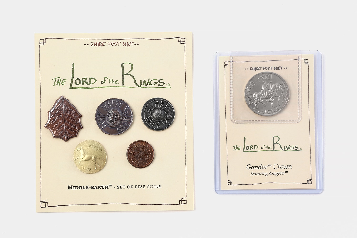 Lord of the Rings Collectible Coin Sets