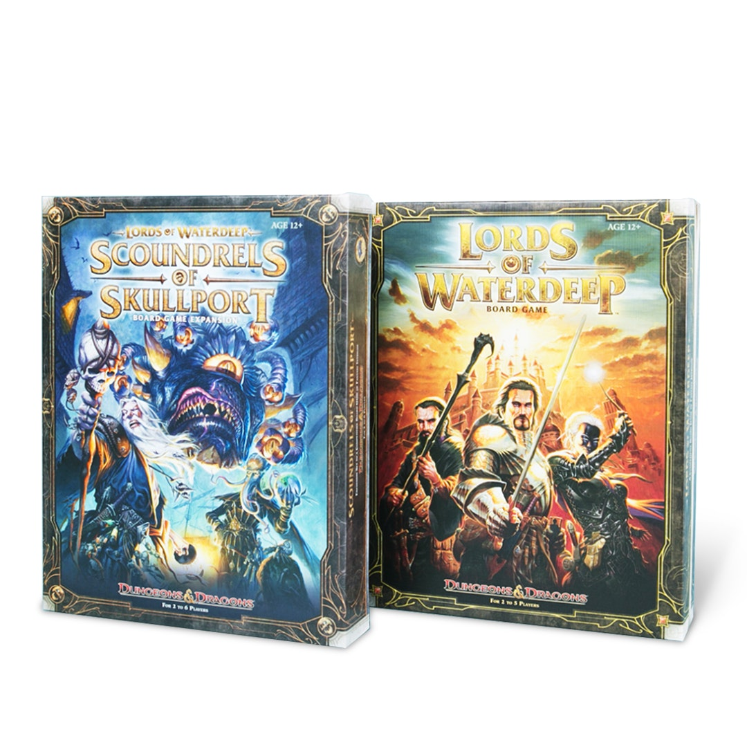 Lords of Waterdeep: D&D Board Game Bundle