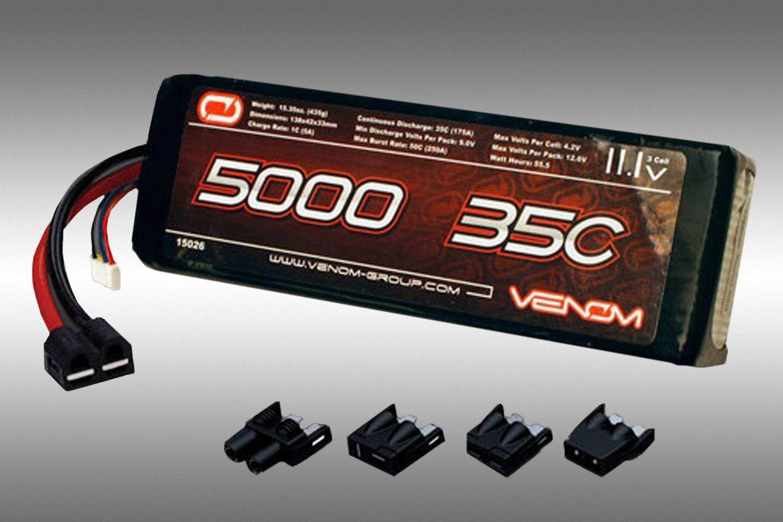 3S 11.1v 5000mah 35C Venom Lipo