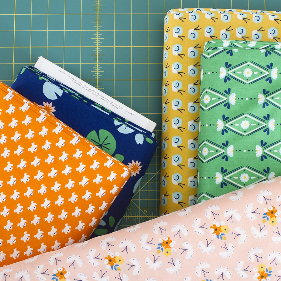 Lotus Pond Yardage