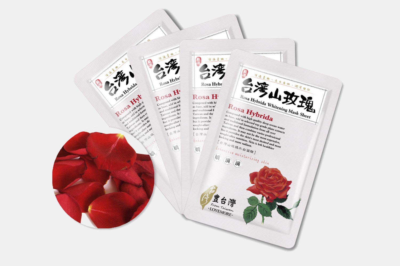 Lovemore Rosa Hybrida Whitening Masks (5 Sheets)