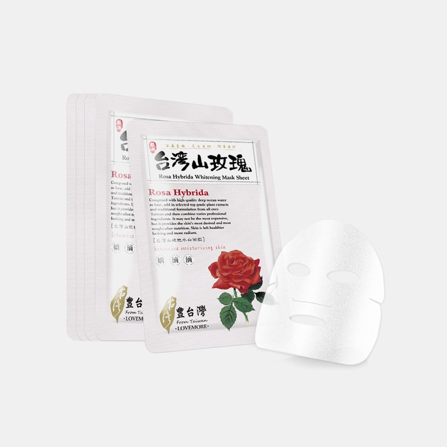 Lovemore Rosa Hybrida Whitening Masks (5 Sheets)