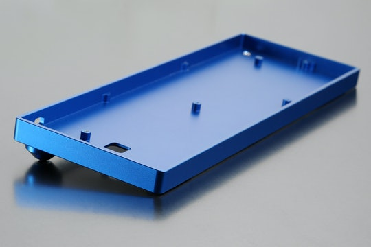 60% Keyboard Low-Profile Aluminum Case