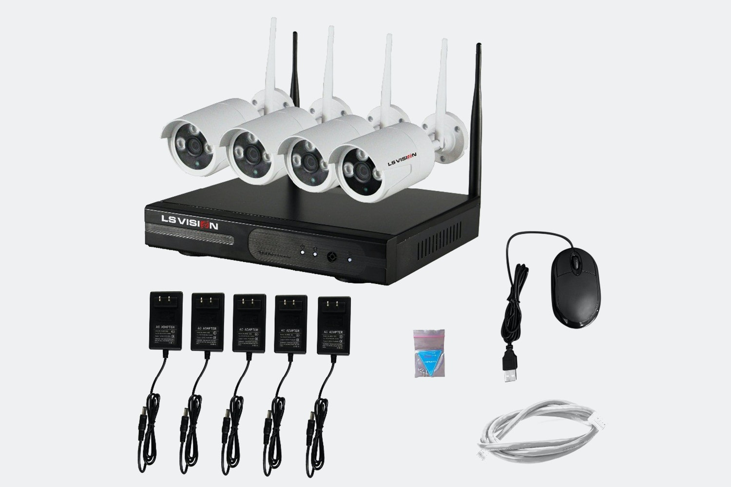 LS Vision 960P Wi-Fi Surveillance Video Systems