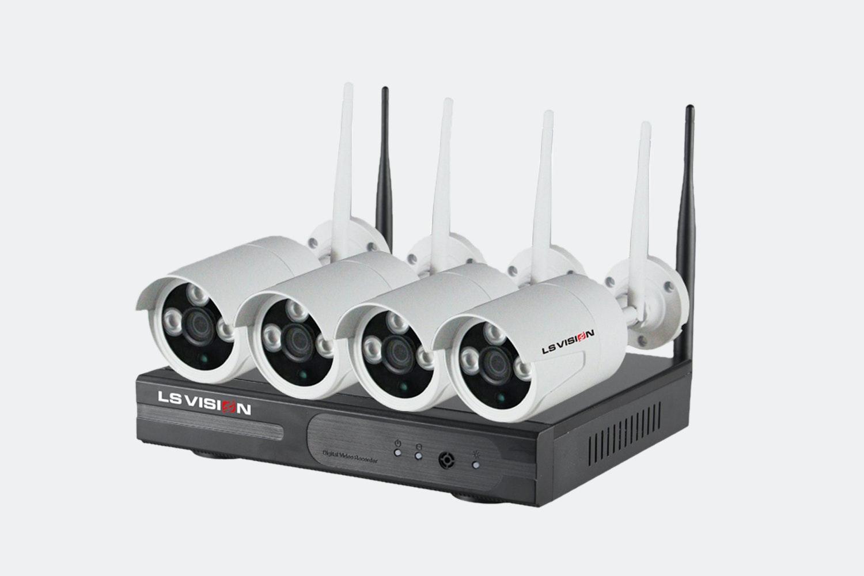 4CH 960P Wifi NVR Kit