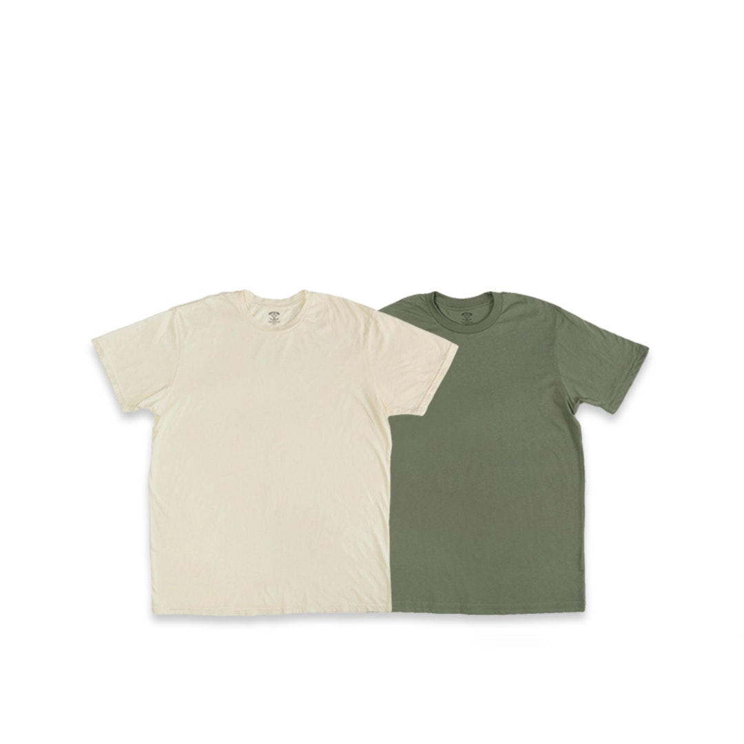 Lucky Soul Premium Solid Tees (2-Pack)