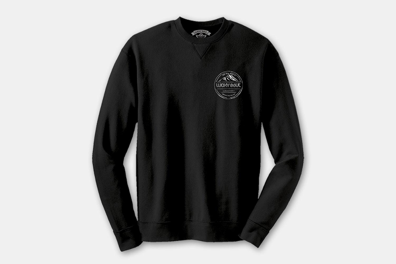 Crewneck Sweatshirt - Take Risk Enjoy It - Black (+ $15)