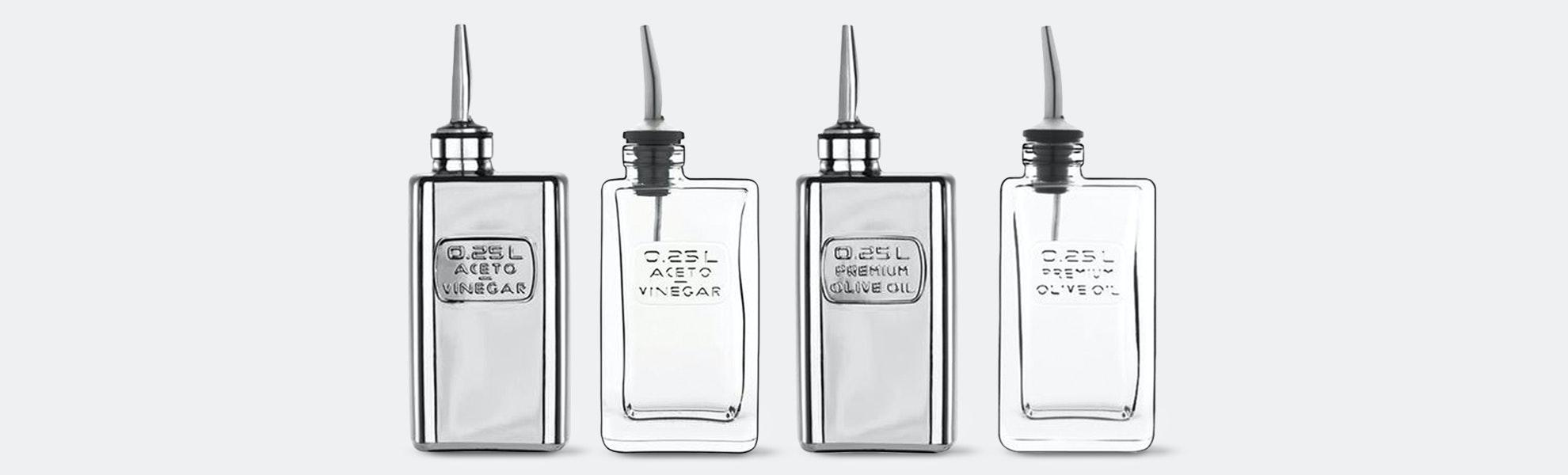 Luigi Bormioli Olive Oil & Vinegar Cruets