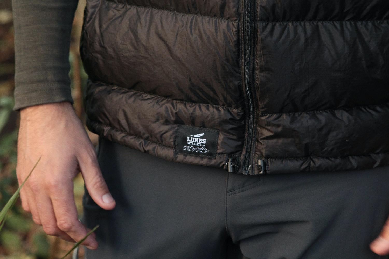 Lukes Ultralite Argon Down Vest