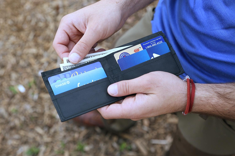 Luke's Ultralite Hybrid Cuben Wallet
