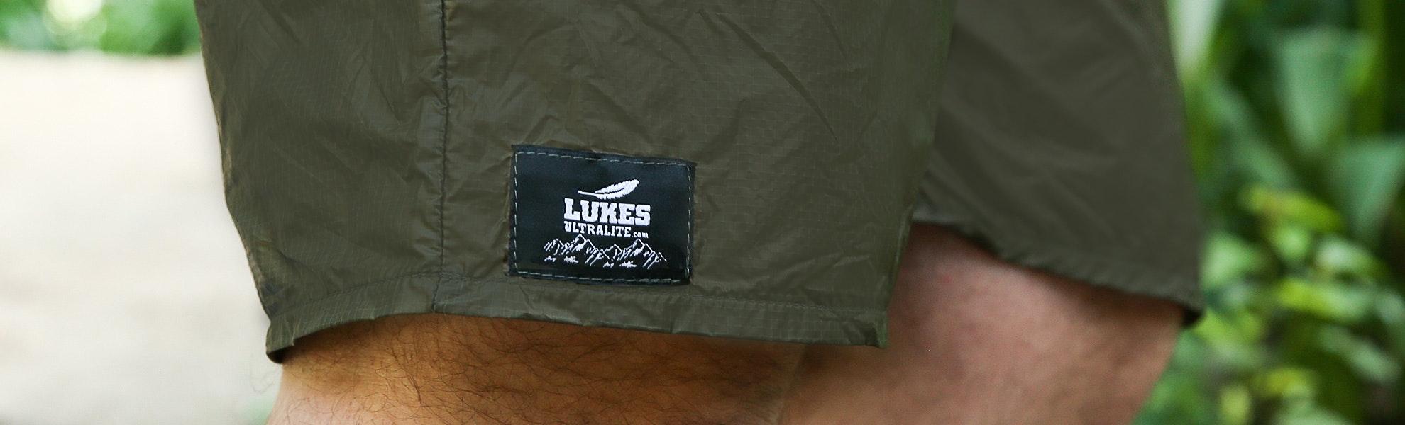 Luke's Ultralite Thru-Hiker Laundry Shorts