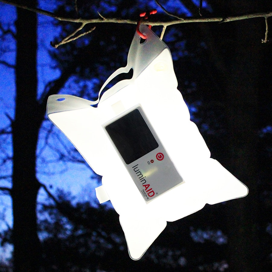 LuminAID Inflatable Solar Lights (2-Pack)