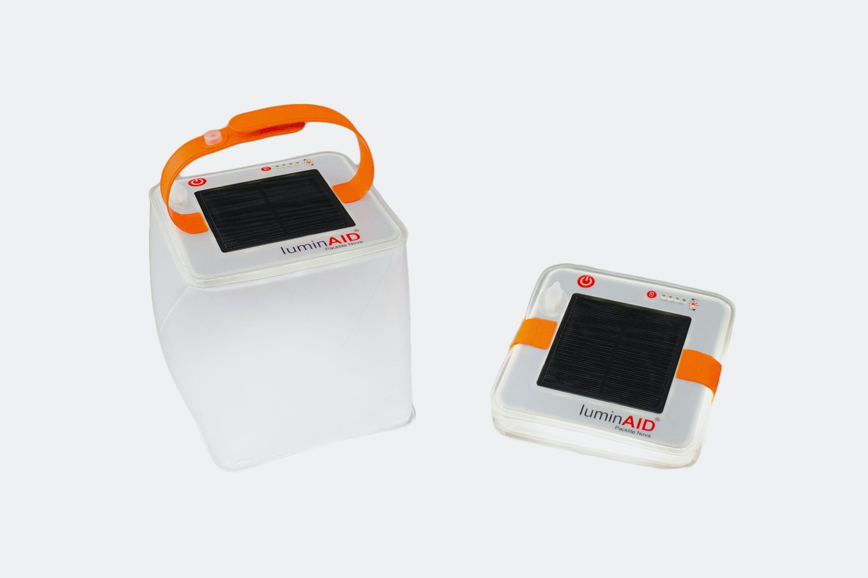 LuminAID Inflatable USB Solar Lights (2-Pack)