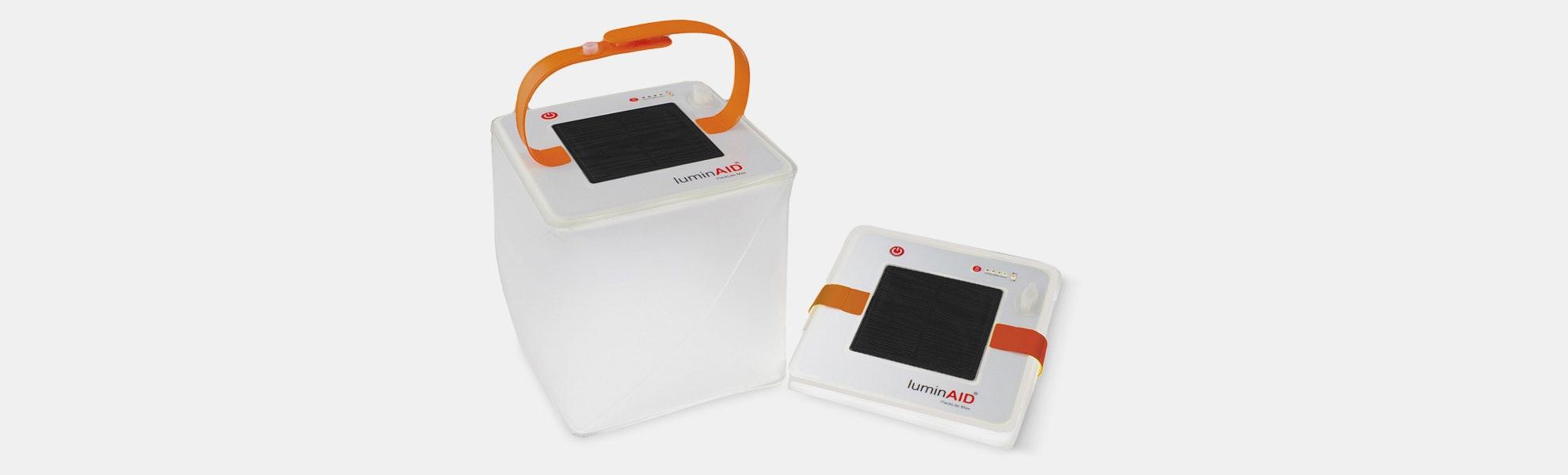 LuminAID PackLite Max USB Solar Inflatable Lantern