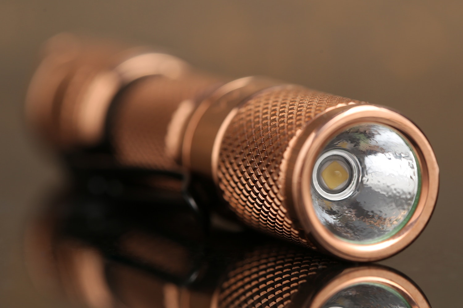 Lumintop Tool Copper AAA Flashlight