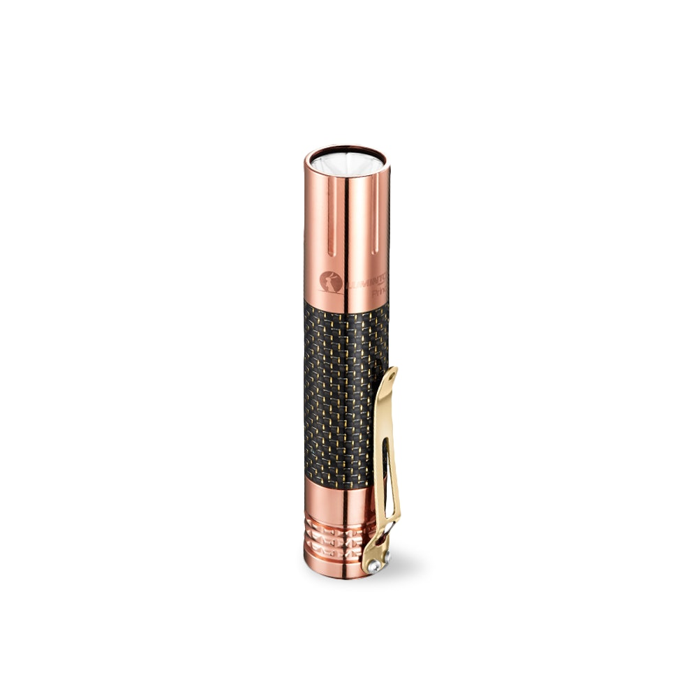 Lumintop Prince 18650 Copper Flashlight