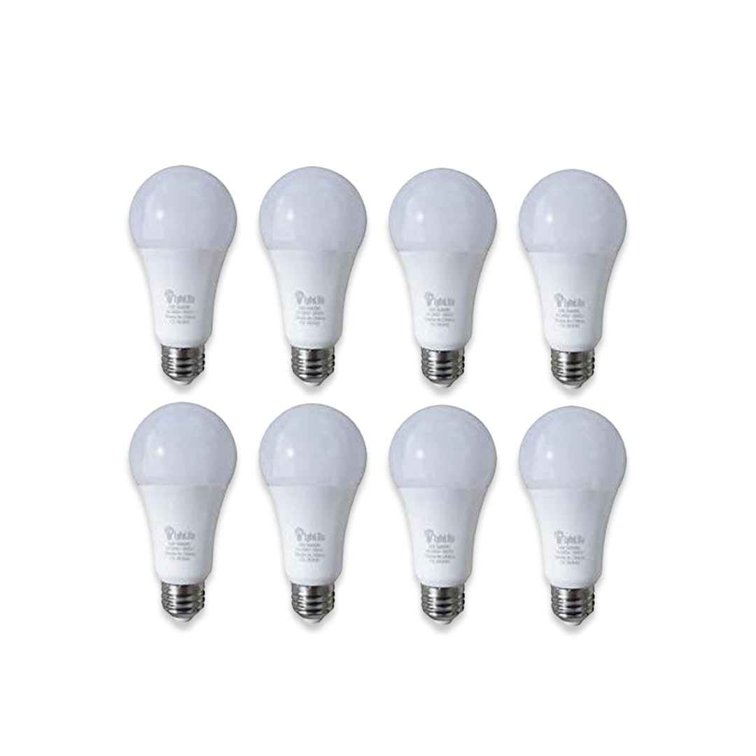 LyfeLite 800-Lumen LED Light Bulbs (8-Pack)