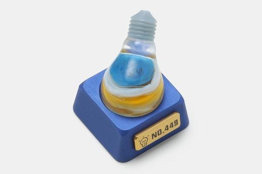 M.7 Bulb Aluminum Artisan Keycap