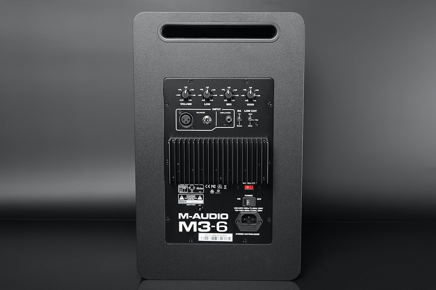 M-Audio M3-6 and M3-8 Three-Way Studio Monitor