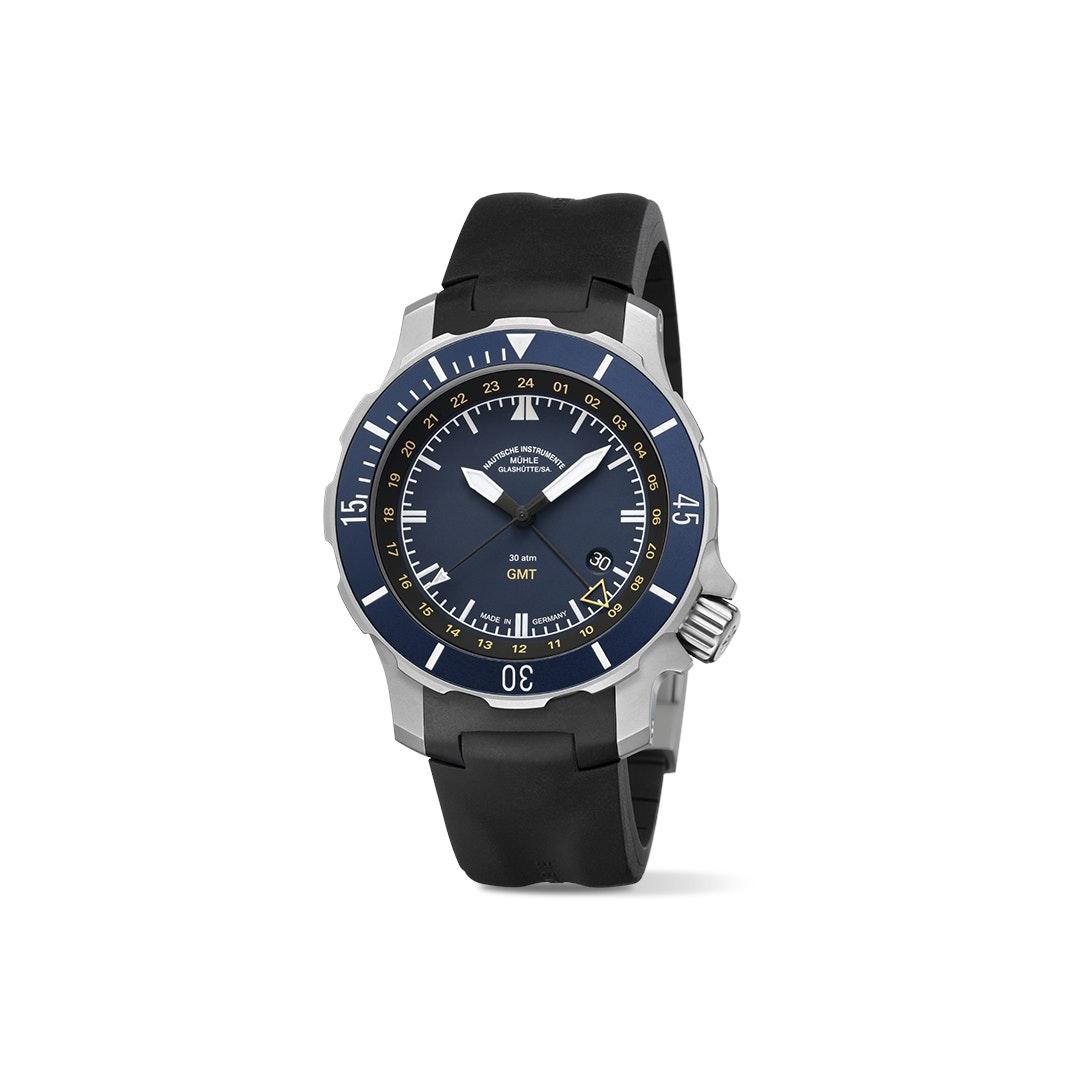 Mühle-Glashütte Seebataillon GMT Automatic Watch